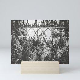 Skull Fence of New Orleans Mini Art Print