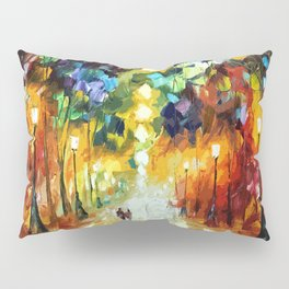 Romantic Starry Night Pillow Sham