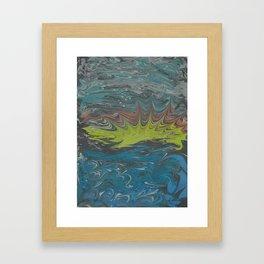 Marble Print #29 Framed Art Print