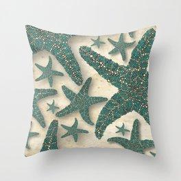 Starfish Society Throw Pillow