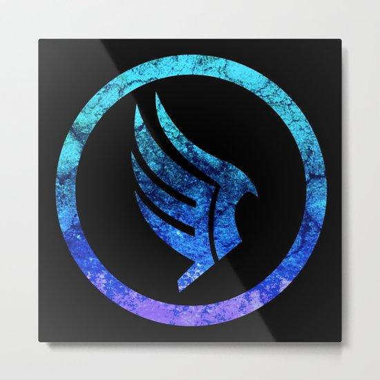 Mass Effect Paragon Metal Print