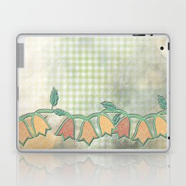 M spring kitchen - Jingle flower buds Laptop & iPad Skin