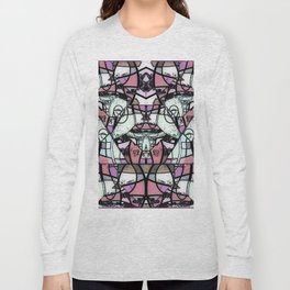 Mirror mirror abstract Long Sleeve T-shirt