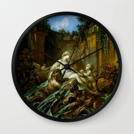 "François Boucher ""Fountain of Venus"" Wall Clock"