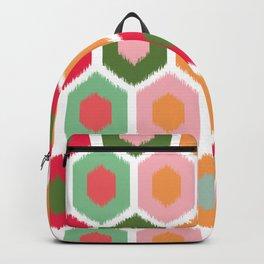 ikat honeycomb tutti fruit #homedecor Backpack