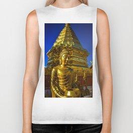 Doi Suthep Golden Buddha Biker Tank