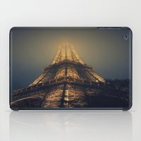 eiffel tower iPad Cases featuring Eiffel Tower  by cchelle135