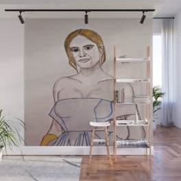 Brie Larson by Double R Wall Mural