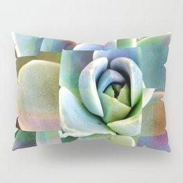 Succulents collage Pillow Sham