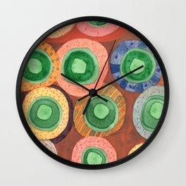 The Green Core Combines Wall Clock