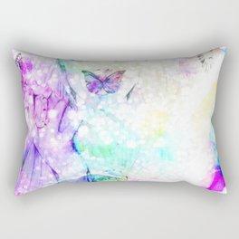 Girl bouquet Rectangular Pillow