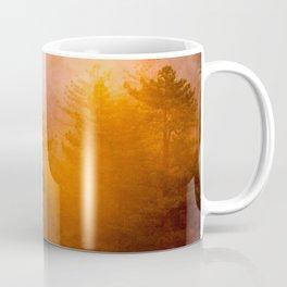 Golden Morning Glory Forest Coffee Mug
