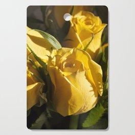 Morning sun on Rose Cutting Board