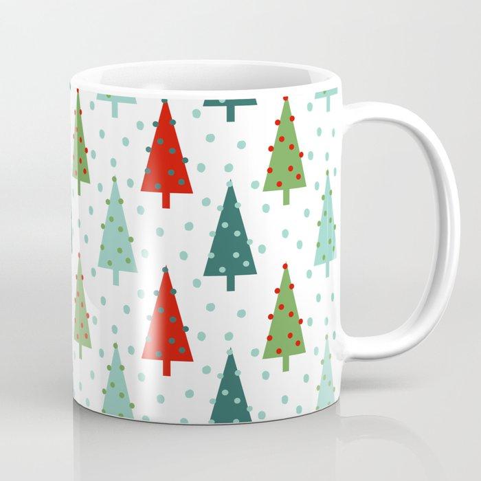 Fabulous Christmas Tree holiday dots snow polka dot minimal modern  XE12