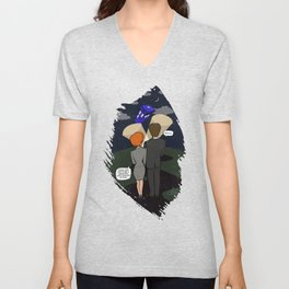 THE TRUTH IS OUT THERE Unisex V-Neck