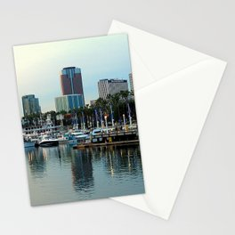 A Slice of Long Beach, CA Stationery Cards