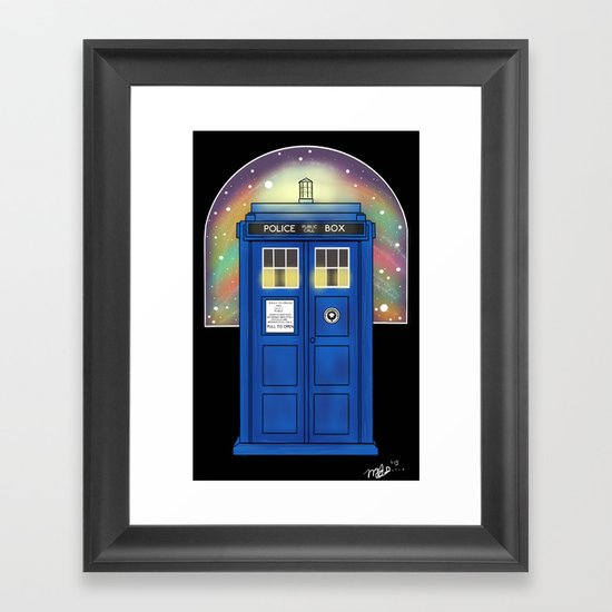 The Sexiest Ship In The Universe Framed Art Print