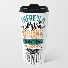 Million Books Travel Mug