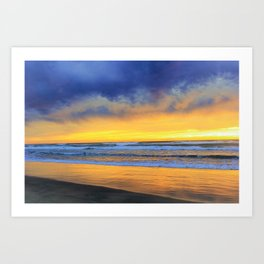 Mood at the Beach by Reay of Light Photography Art Print