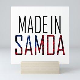 Made In Samoa Mini Art Print