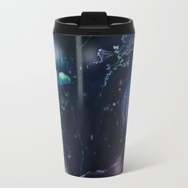 jellyfish night Travel Mug