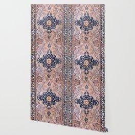 Sarouk  Antique West Persian Rug Print Wallpaper