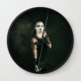 Hoest #OnStagePortrait Wall Clock