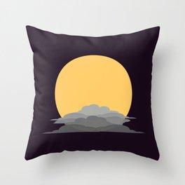 Harvest Moon Throw Pillow
