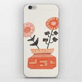 Floral vibes V iPhone Skin