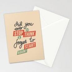 Ever Stop Stationery Cards