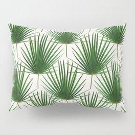Simple Palm Leaf Geometry Pillow Sham