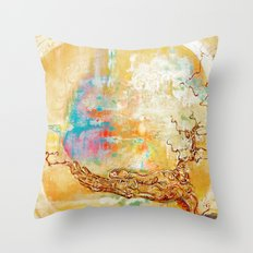 EasterTree Throw Pillow