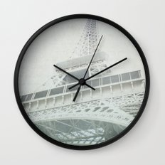 Letters From The Eiffel - Paris Wall Clock