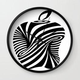manzana ilusión óptica de la Wall Clock