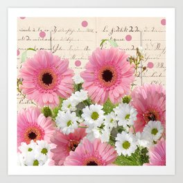 Bonanza of Flowers Art Print