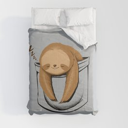 Sloth in a Pocket Comforters