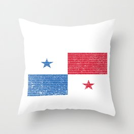 Panama Flag Vintage Panamanian National Country Gift Throw Pillow