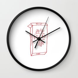 pocky pack Wall Clock