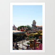 Fairground Art Print