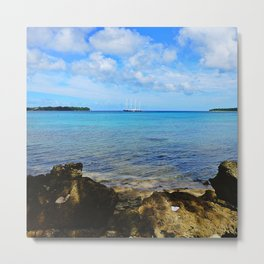 Port Vila Bay Metal Print