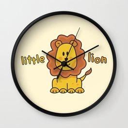 Little Lion Wall Clock