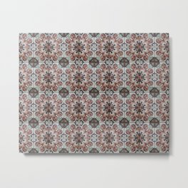 Tiles Collection: Colombia Metal Print