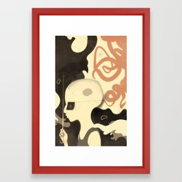 Para-pluie (color) Framed Art Print