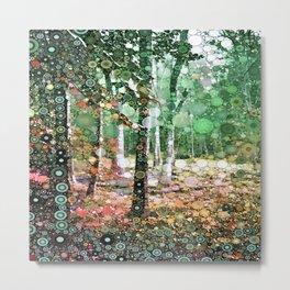 :: Walk in the Woods :: Metal Print