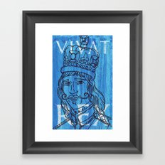 anyone can be a 'King Maker'....look, I just made one Framed Art Print