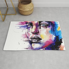 Colored soul Rug