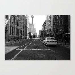 Off Queen - John Street - South Canvas Print