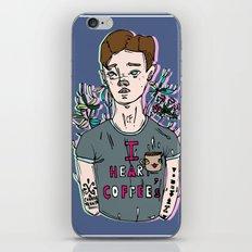 //Connor Franta: I Heart Coffee's// iPhone & iPod Skin