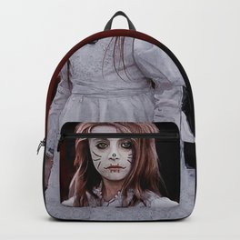 Angel Of The Dead - Dia De Los Muertos Backpack