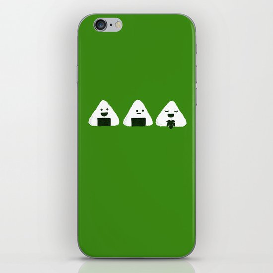 Nude Onigiri iPhone & iPod Skin